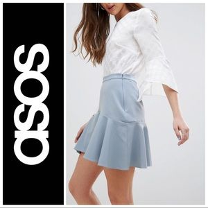 asos • Fit and Flare Mini Skirt Sz 6